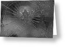 Glass Spider Greeting Card