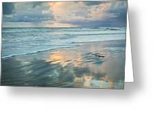 Glassy Beach Greeting Card