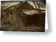 Gleason Ghost Town Greeting Card