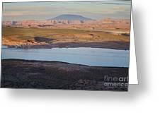 Glen Canyon And Navajo Mountain Greeting Card