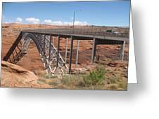 Glen Canyon Bridge Greeting Card
