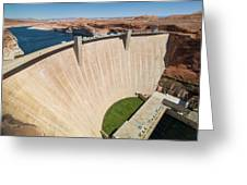 Glen Canyon Dam Greeting Card