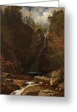 Glen Ellis Falls Greeting Card