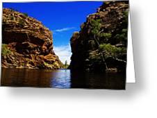 Glen Helen Gorge-outback Central Australia V2 Greeting Card