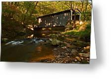 Glen Hope Covered Bridge Greeting Card