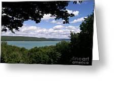 Glen Lake Michigan Greeting Card