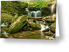 Glen Leigh Cascades Greeting Card