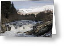 Glen Orchy Scotland Greeting Card