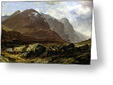 Glencoe, 1864 Greeting Card