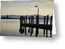 Glendale Docks No. 2 Greeting Card by David Gordon