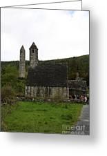 Glendalough Cloister Ruin - Ireland Greeting Card