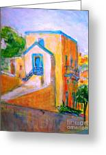 Gleneagles Gozo Greeting Card by Marco Macelli