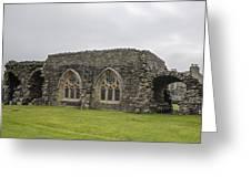 Glenluce Abbey - 1 Greeting Card