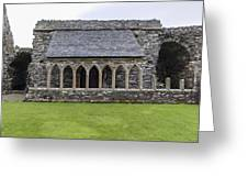 Glenluce Abbey - 5 Greeting Card