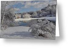 Glenmorgan After A Snow Greeting Card