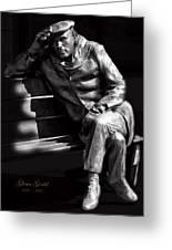Glenn Gould Greeting Card