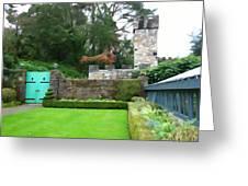 Glenveagh Garden Gate Greeting Card