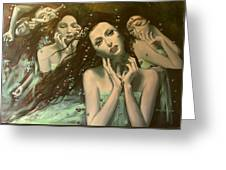 Glissando Greeting Card by Dorina  Costras