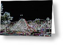 glo 248- Rollercoaster Greeting Card