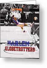 Globetrotters Super Slam Greeting Card by Robert Saunders Jr