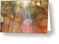 Gloria Catchin' Rays Greeting Card