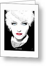 Gloria Swanson - Marlene Dietrich Greeting Card