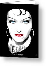 Gloria Swanson - Esrellita Castro Greeting Card