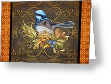 Glorious Birds-b2 Greeting Card