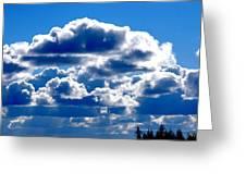 Glorious Clouds II Greeting Card