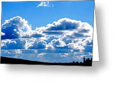 Glorious Clouds Greeting Card