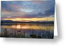 Glorious Morning In Donegal Greeting Card