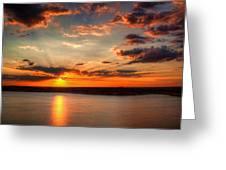 Glorious Rays Greeting Card