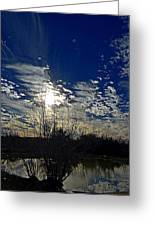 Glorious Reflection Greeting Card by Kelly Kitchens