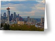 Glorious Seattle Greeting Card