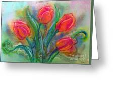 Glorious Tulips Greeting Card
