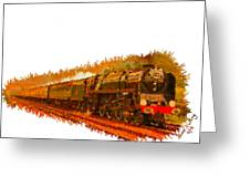 Glory Train To Heaven Greeting Card