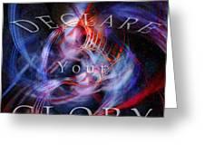Glory1 Greeting Card