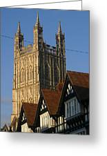 Gloucester Cathedral Spire Greeting Card
