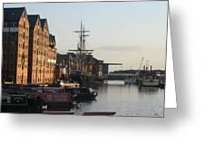 Gloucester Docks 1 Greeting Card