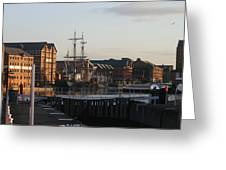 Gloucester Docks 3 Greeting Card