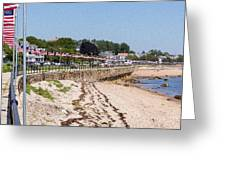 Gloucester In July Greeting Card