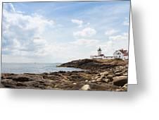 Gloucester Lighthouse Greeting Card