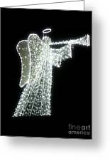 Glowing Angel Greeting Card