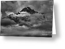 Glowing Glaciers In The Tantalus Range Greeting Card