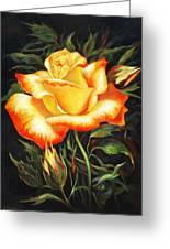 Glowing Rose 2 Greeting Card