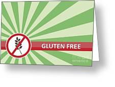 Gluten Free Banner Greeting Card