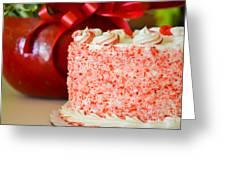 Gluten Free Peppermint Cake Greeting Card