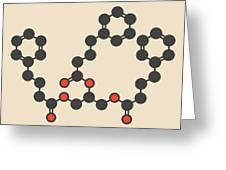 Glycerol Phenylbutyrate Drug Molecule Greeting Card