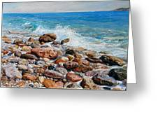 Glyfada Greece Greeting Card