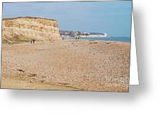 Glyne Gap Beach In England Greeting Card